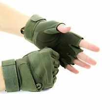 Special forces tactical gloves Slip Outdoor Men Fighting Half- finger Gloves