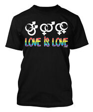 Love Is Love - Rainbow Gay LGBT Pride Normal Men's T-shirt