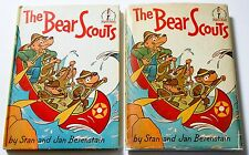 Stan and Jan Berenstain THE BEAR SCOUTS 1st in dj