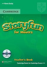 Storyfun for Movers by Karen Saxby (2011, CD / Paperback, Teacher's Edition...