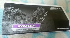 Transformers ROTF RAVAGE INSTRUCTION BOOKLET ONLY