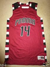 Pomona High School Panthers #14 Basketball Phs Game Worn Used Jersey Lg L Arvada