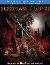 Sleepaway Camp 3 - Teenage Wasteland (Blu-ray Disc, 2015, 2-Disc Set)