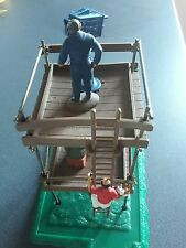1/32 Scalextric TV Tower in great condition plus SRA figure