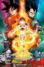 DRAGON BALL Z - RESURRECTION F - ONE SHEET POSTER - 22x34 MANGA 14466