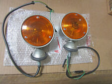 TOYOTA LAND CRUISER FJ40 FJ45 FNT TURN SIGNAL PAIR 62-68 landcruiser FJ 40 45