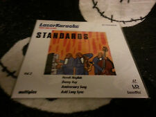 Laser Karaoke Standards Vol 2 NEW SEALED Laserdisc LD Free Ship $30 Orders