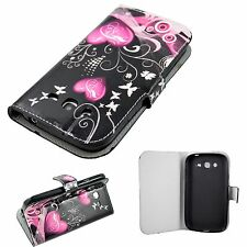 Wallet Style Flip Leather Skin Cover Case For Samsung Galaxy Grand Duos i9082