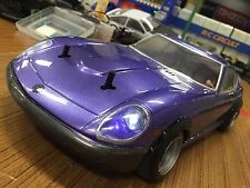 PANDORA 1/10 RC NISSAN FAIRLADY 240Z-G 199mm Clear Body Drift Hashiriya