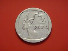 South Africa 2 Rand, 1989, Greater Kudu
