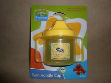 Sesame Street Big Bird BPA Free Twin Handle Sippy Cup~6+ Months, NEW IN PACKAGE!