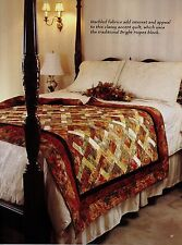 """Bright Hopes      Finished Size-58""""x75""""      Quilt  (Pattern Only)"""