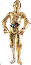 Costume di C-3PO SCALA 1:1 INDOSSABILE COSPLAY (star wars 7 costume C3PO