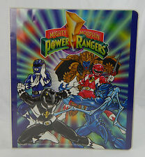 Vintage 1993 Mighty Morphin Power Rangers 3 Ring Binder Trapper Keeper