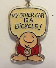 Vintage Ziggy Keychain – My Other Car is a Bicycle