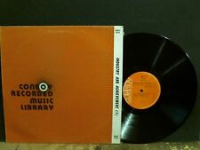 CONROY MUSIC LIBRARY  Industry & Achievement  Vol. 1    LP  Lovely copy!