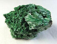 Fibrous Malachite natural mineral specimen. 72 gms (2.54 oz).