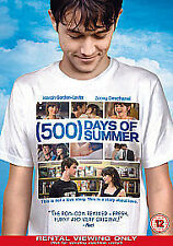 500 Days of Summer (DVD, 2010) - Acceptable Condition - Ex Library