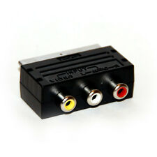 Adaptador de entrada scart (Vmc-91) Para Ps1 Ps2 Ps3 Wii Xbox Dvd Video Audio R L Video