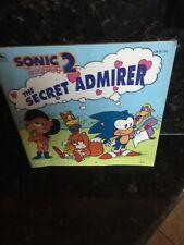 Sonic the Hedgehog 2 Secret Admirer Vintage Sega children's book Golden gaming