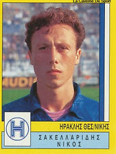 N°148 IRAKLIS THESSALONIKI GREECE PANINI GREEK LEAGUE FOOT 95 STICKER 1995