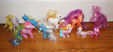 x10 Lot MY LITTLE PONY Figure Hasbro Toys Horse PONIES Pink White Figurines Kid