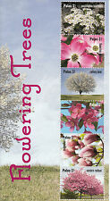 Palau 2012 MNH National Cherry Blossom Festival 4v M/S Flowering Trees Pear