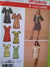Simplicity Sewing Pattern 2999 Ladies / Misses Dress Mini Dress Size 6-14 Uncut