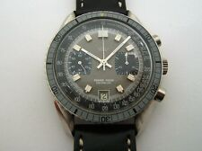 PROTOTYPE HUGUENIN SPEEDMASTER MOVEMENT VALJOUX 7734 FROM THE 60-70's