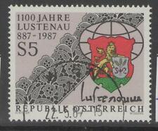 AUSTRIA SG2128 1987 LUSTENAU FINE USED