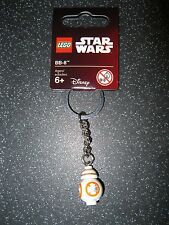 Lego Star Wars Force Awakens BB-8 Key Ring/ Key Chain Brand New 853604