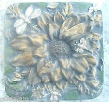 plastic flower daisy bee stepping stone concrete plaster mold garden mould