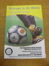 07/05/2014 Mid-Essex League Division 4 Cup Final: Harold Wood Athletic B v Real
