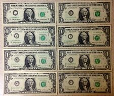 Lot of 8 Federal Reserve Notes
