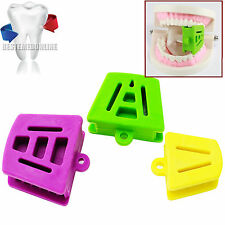 1set Silicone Latex Mouth Prop Bite Blocks Purple Green Yellow Adult/Childre  ca