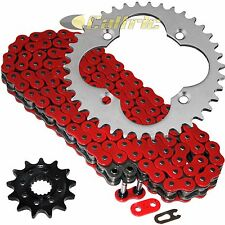 Red O-Ring Drive Chain & Sprockets Kit Fits HONDA TRX450R 2006 2007 2008 2009