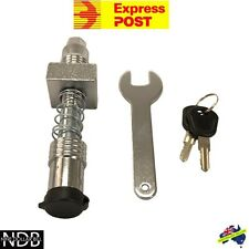 Anti Rattle Hitch Pin & Lock Tow Bar Trailer Ball Mount Camper FASTPOST & WNTY