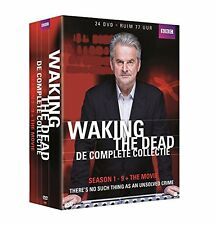WAKING THE DEAD : COMPLETE SERIES 1 - 9 + movie BOX SET -  DVD - PAL Region 2
