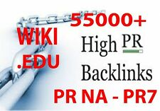 55,000+ Wiki .EDU Pyramid with Real high PR Backlinks