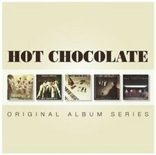 HOT CHOCOLATE - ORIGINAL ALBUM SERIES 5 CD NEU