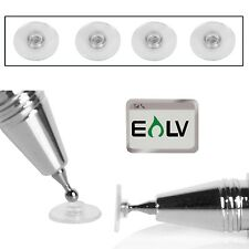 4 Soft Replacement Tips for E LV Fine Point Stylus with E LV Microfiber Digit...