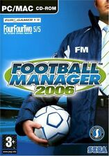 Football manager 2006 (mac/pc cd), bonne windows xp, pc jeux vidéo