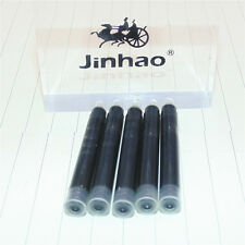 JINHAO 5pcs Black Ink Refill Cartridge Fountain Pen  Other For more brands