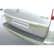 RGM Rear Black Bumper Protector For Citroen C4 Grand Picasso 7 Seater 06-13