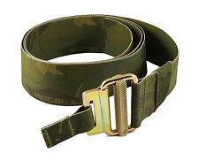 UKOM Crye Multicam Tropic Military Roll Pin Belt - 100% UK Made - Jungle Warfare