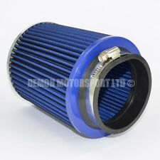 Universal Performance Air Filter Blue Finish For Intake Induction Kit (38946)