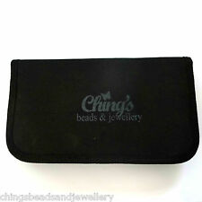 Black Canvas Carry Case For 8pc Jewellery Tools