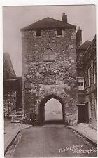 Southampton, The Westgate 1913 Real Photo Postcard, A977
