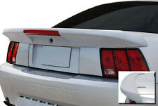 "FOR FORD MUSTANG UN-PAINTED ""Saleen-Style"" w/Light Rear Spoiler Wing 1999-2004"