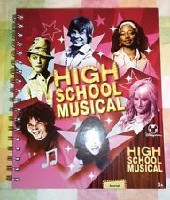 High School Musical Journal Diary New Disney Store Spiral bound Pink Pages Wild